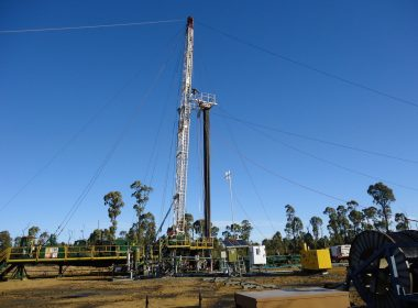 CSG drill rig