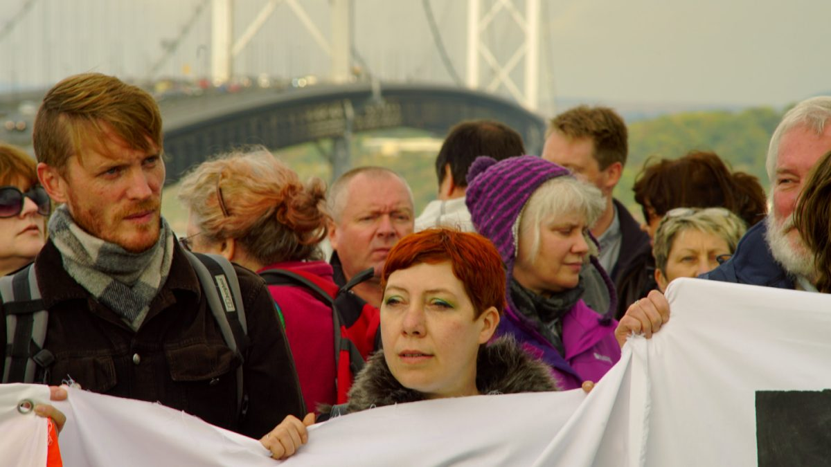 Resistance: The people fighting fracking in Scotland 13