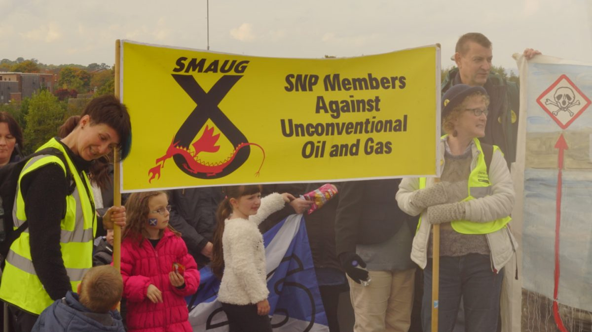 Resistance: The people fighting fracking in Scotland 9