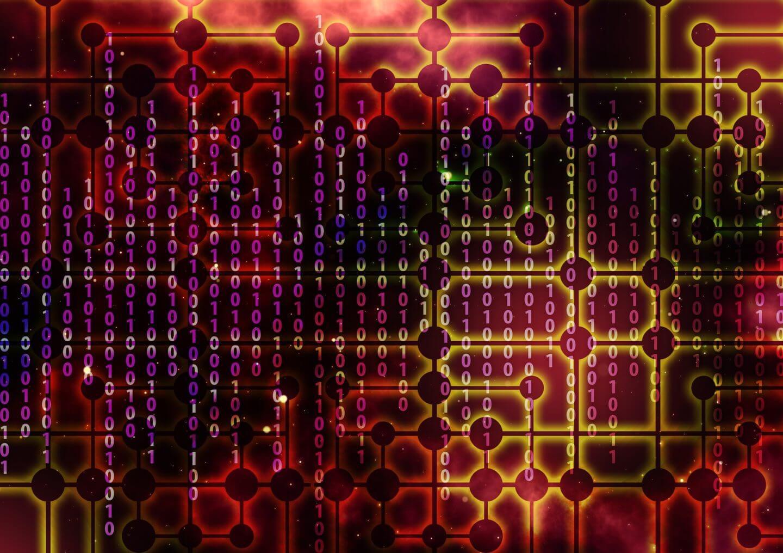 Internet data graphic