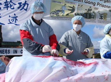 China accused of lying over organ harvesting 9