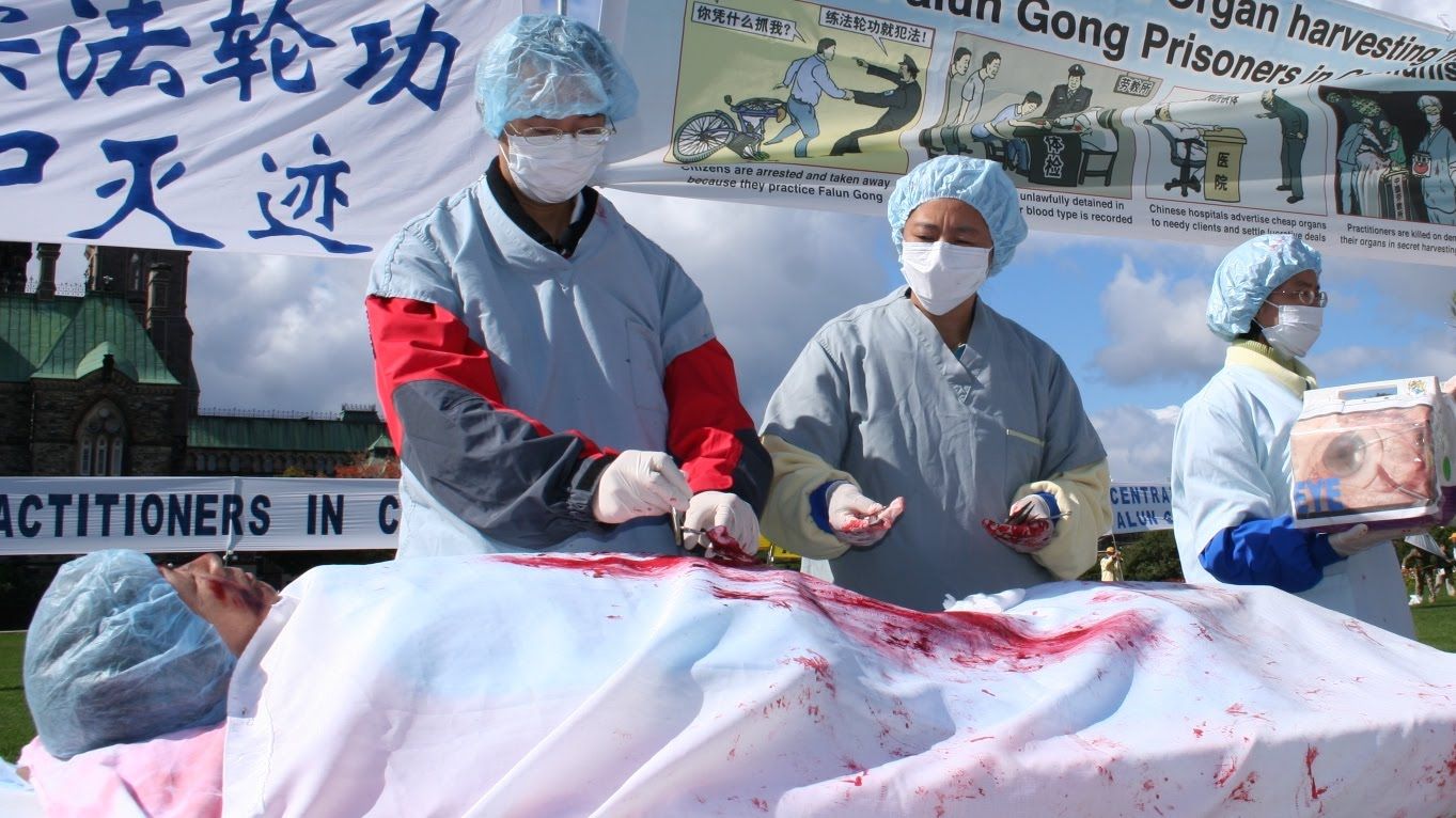China accused of lying over organ harvesting 8