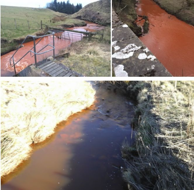 Dippool Water Minewater Pollution