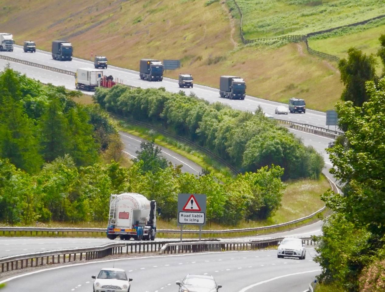 Nuclear convoy collisions and breakdowns exposed 9