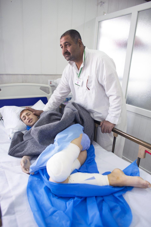 Zuhair Hani Salem, victim of a mortar attack