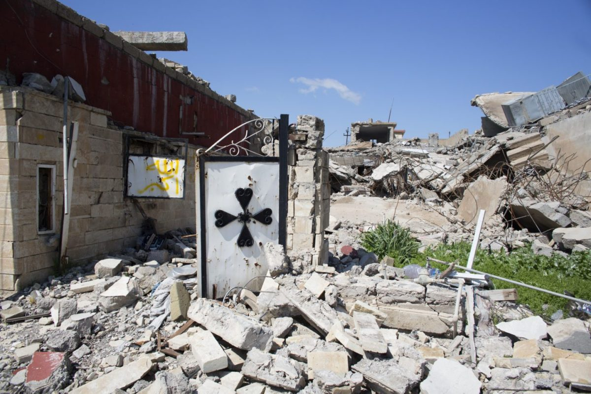 The destruction and liberation of Batnaya 9