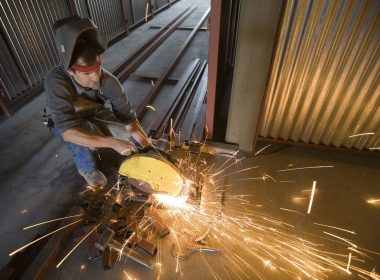 Steelworker productivity