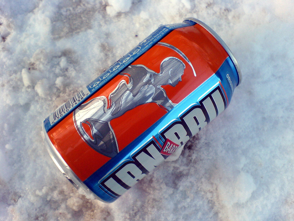 Sorry Irn-Bru, Scotland's not the only place where Coca-Cola is not on top 8