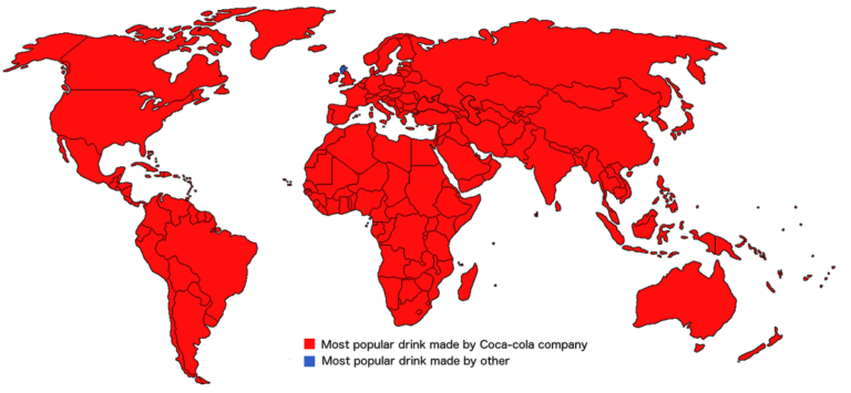 Sorry Irn-Bru, Scotland's not the only place where Coca-Cola is not on top 9