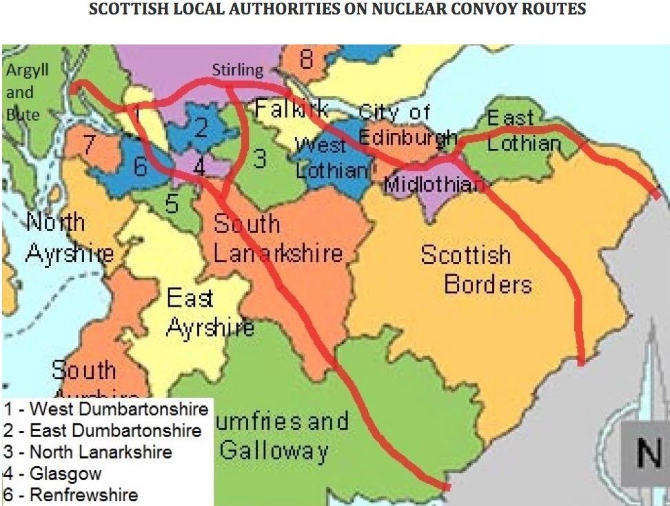 nuclear convoys