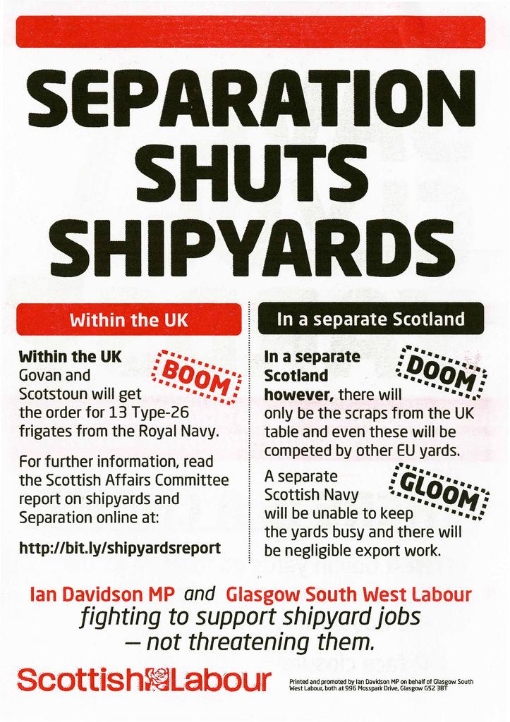 Sturgeon's claim indyref shipbuilding promises were broken is Mostly True 10