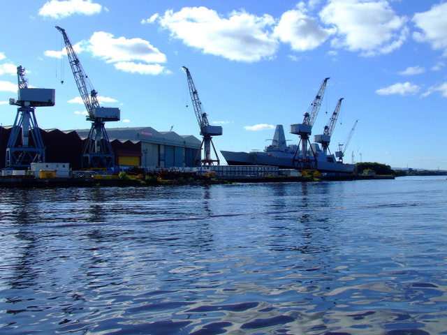 Sturgeon's claim indyref shipbuilding promises were broken is Mostly True 9