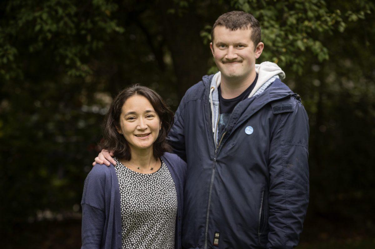 Sophie Pilgrim (Director, Kindred) and her son Adam Pilgrim.