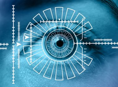 biometric scan of an eye