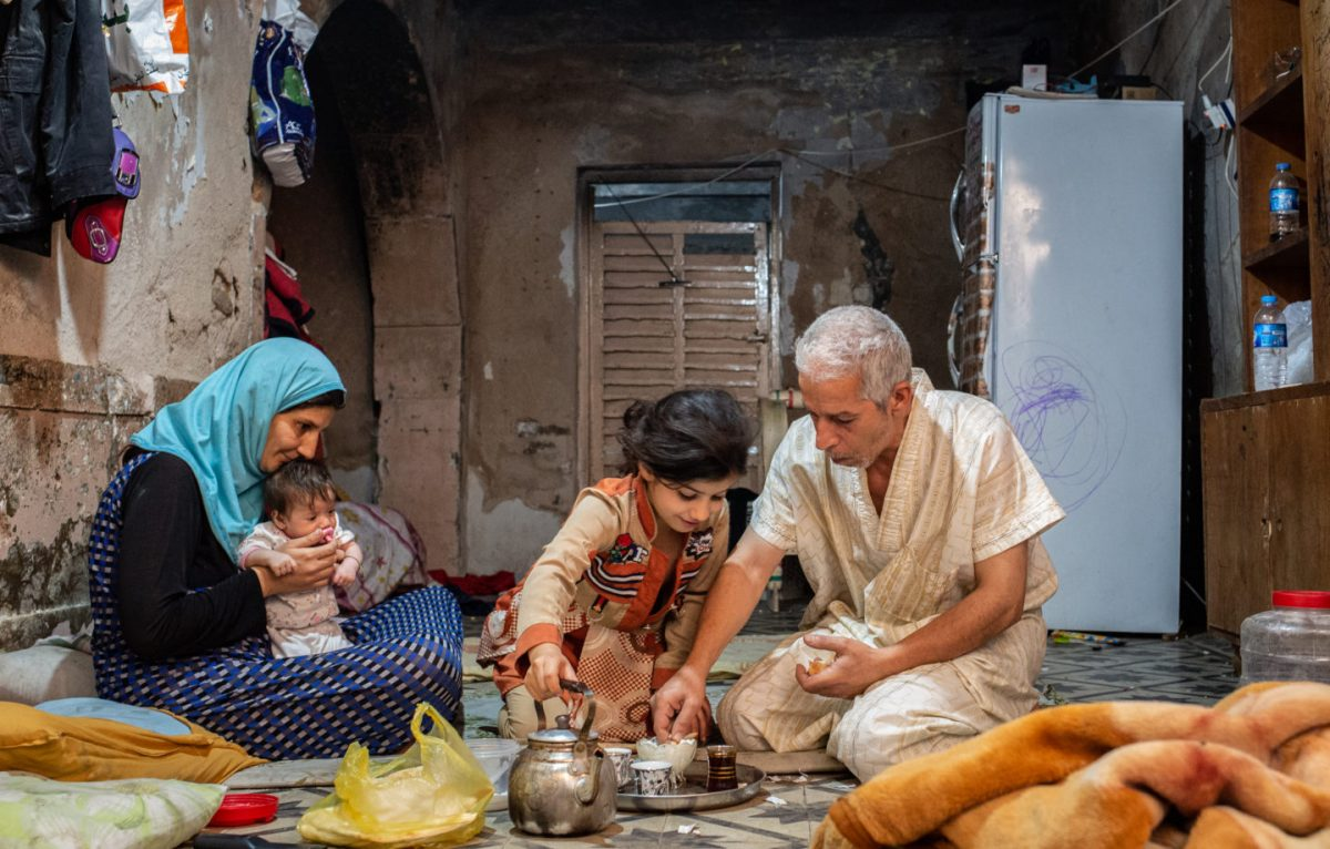 Liqaa and her family - Old City of Mosul