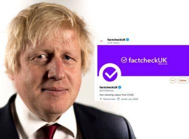 Fake Factcheck and Boris Johnson
