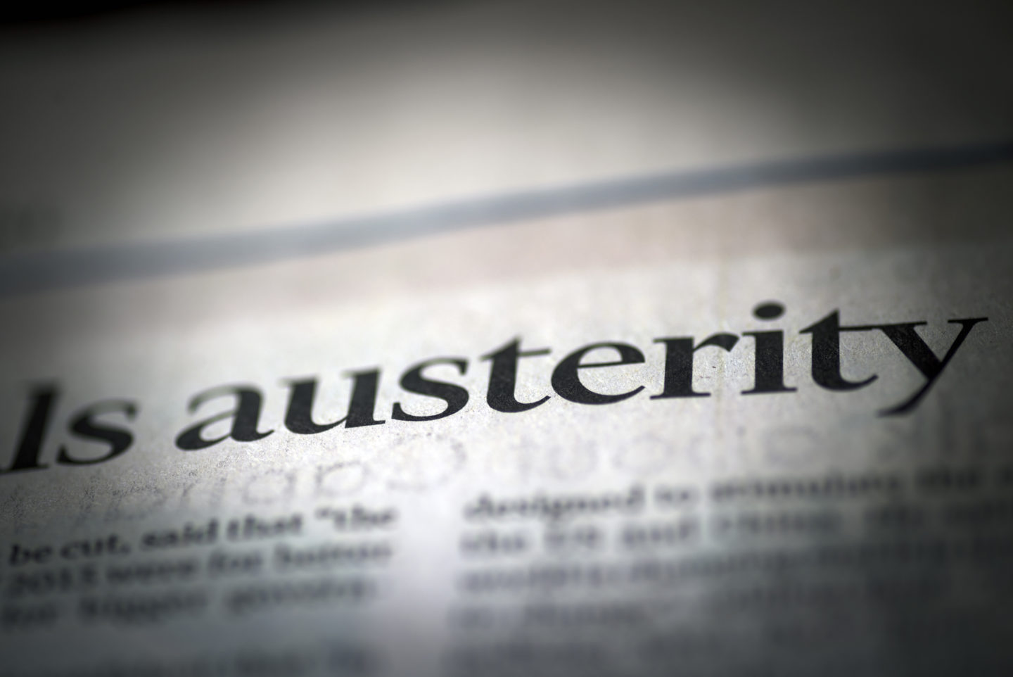 FFS Explains: what do the manifestos say about austerity? 8