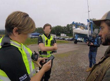 Police apologise to anti-fish farm campaigner over access 11