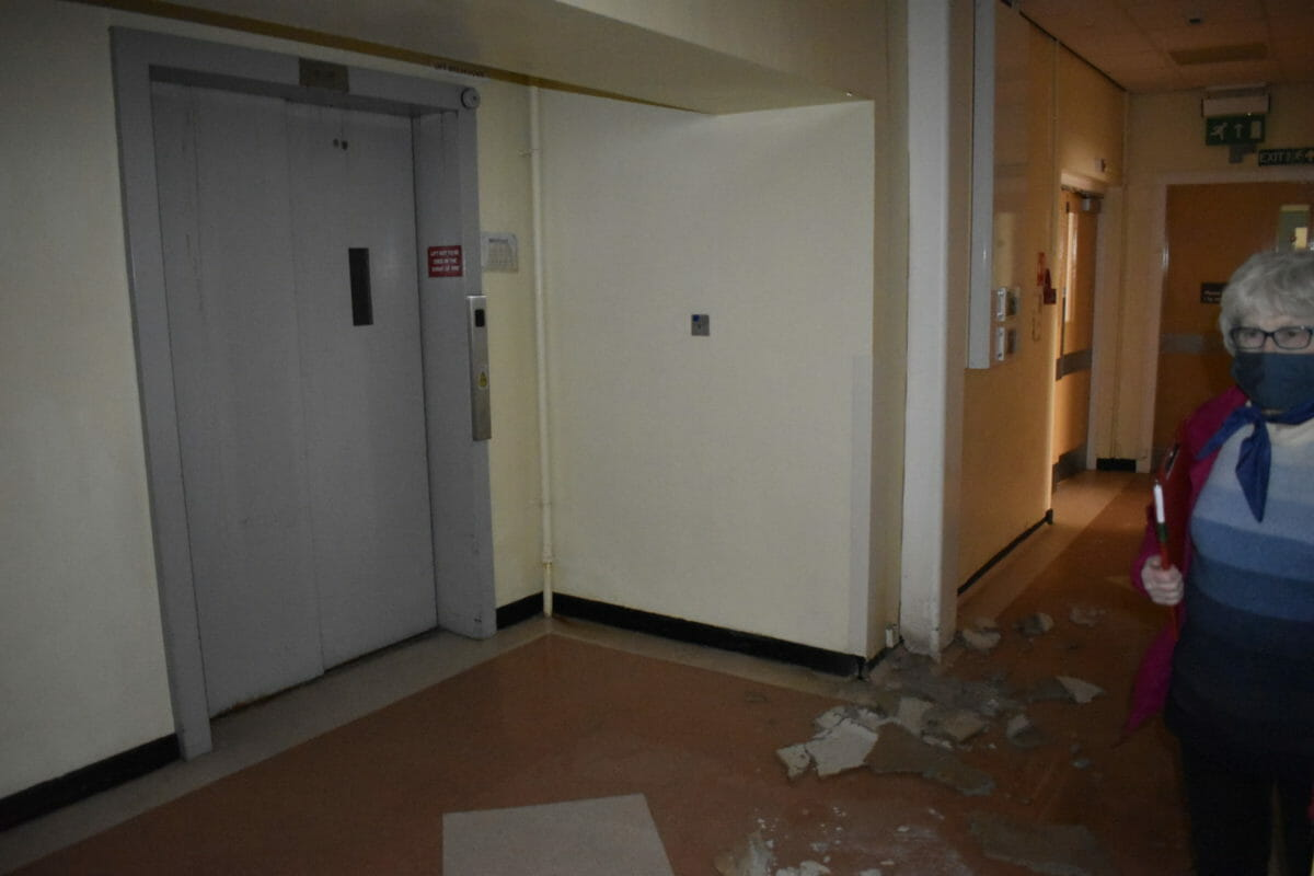 NHS Tayside stalls community plans for abandoned infirmary 12