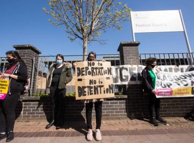 Refugee campaigners warn dawn raids must not become a 'de facto eviction' tactic 13
