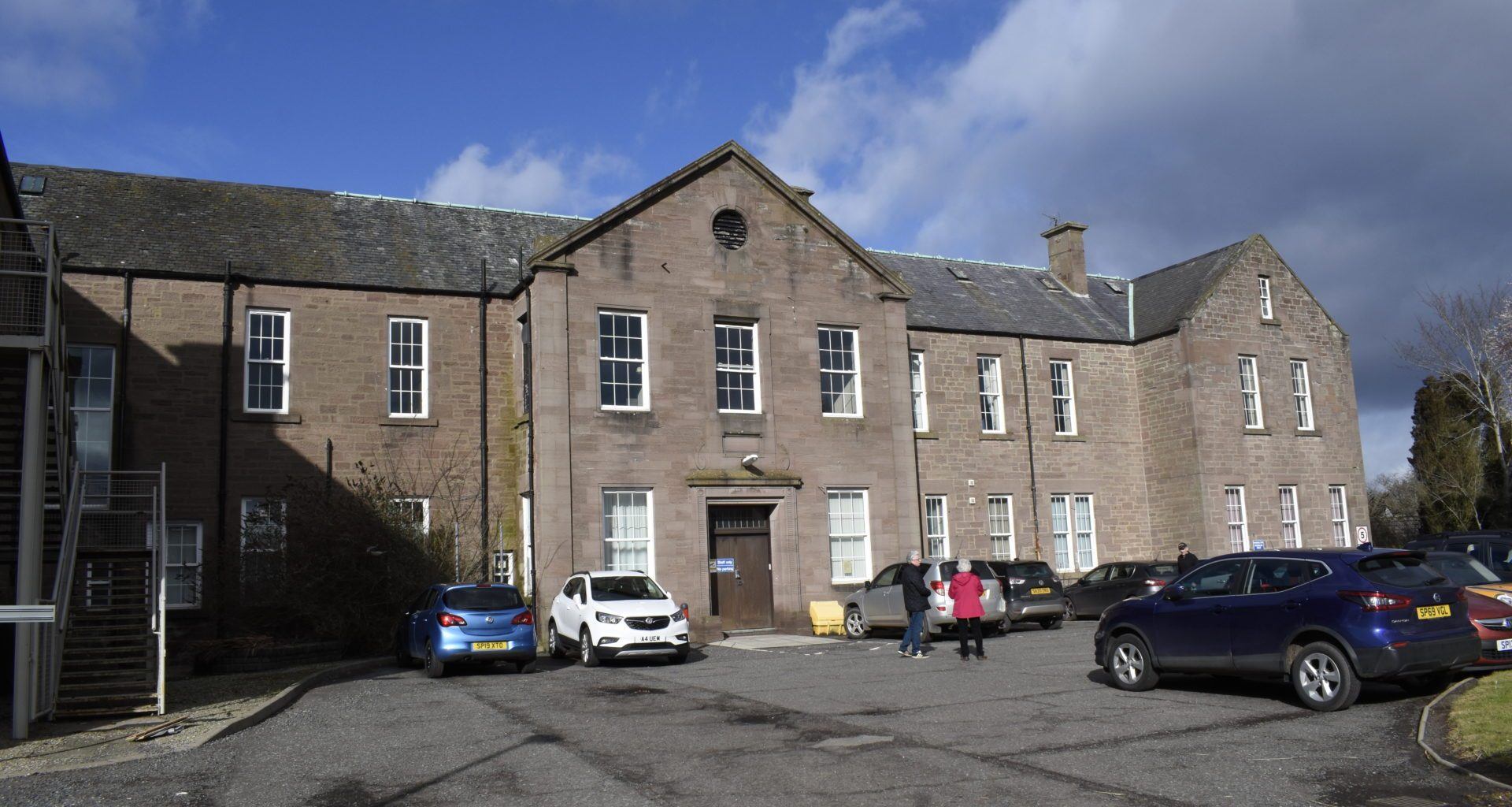 NHS Tayside stalls community plans for abandoned infirmary 8
