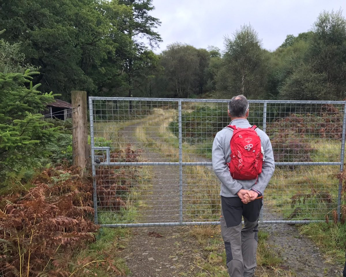 Highland estate owner breaching public access rights, say locals 14