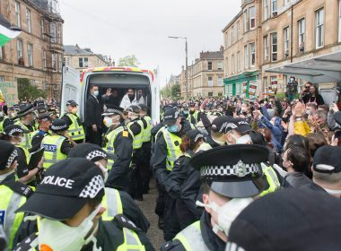 Men freed as 'antagonistic' and 'intimidating' Home Office immigration raid ends 12