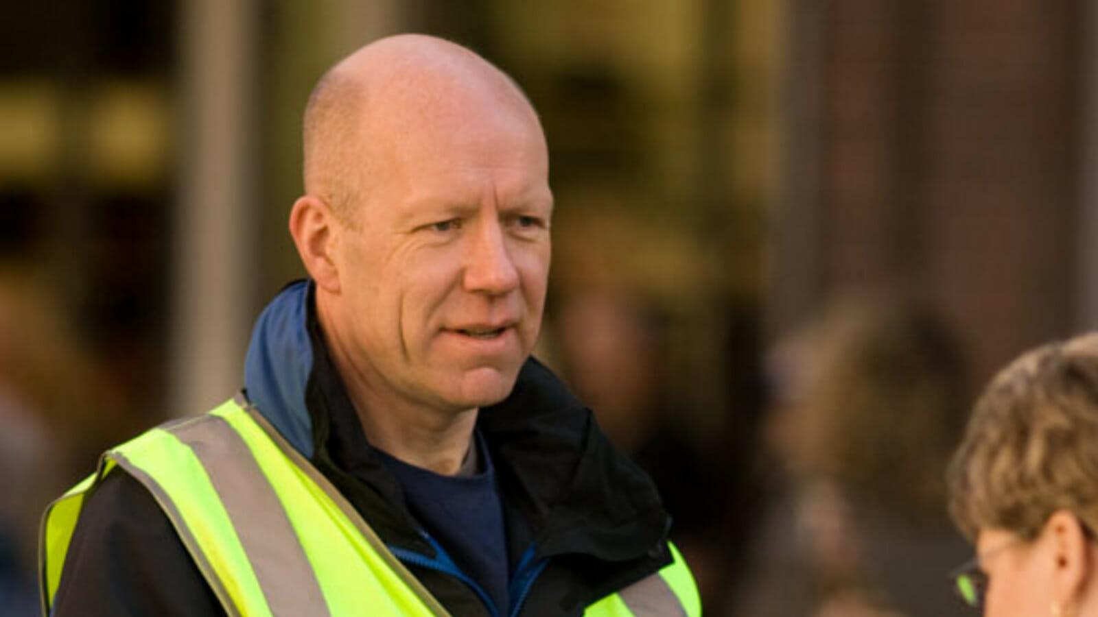 Max Dunbar, former BNP activist and Independent Green Voice candidate