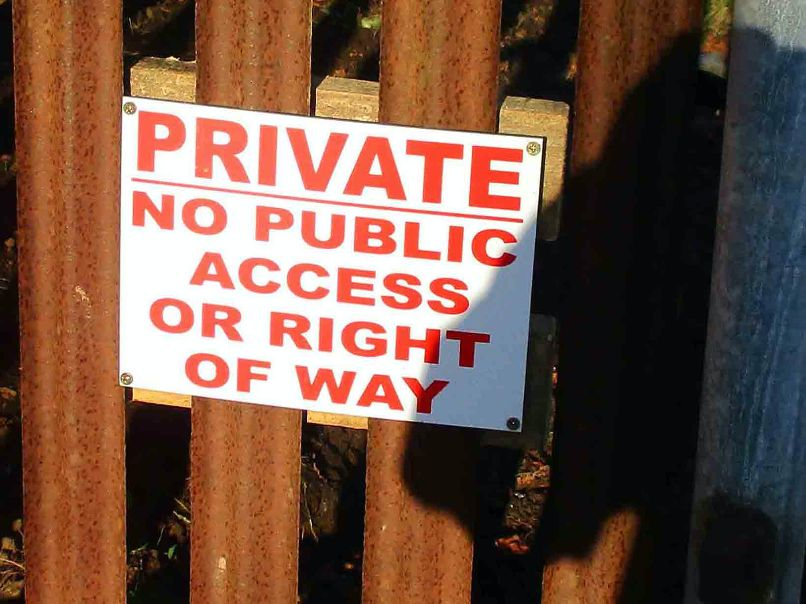 Highland estate owner breaching public access rights, say locals 19