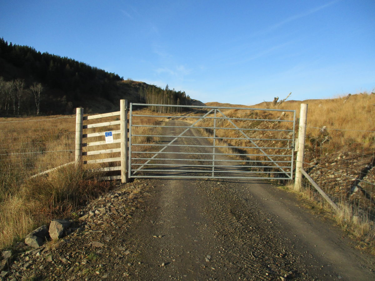 Highland estate owner breaching public access rights, say locals 9