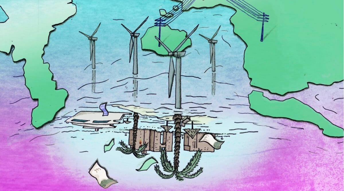 Windfall: one third of Scotland's biggest wind farms linked to tax havens 11