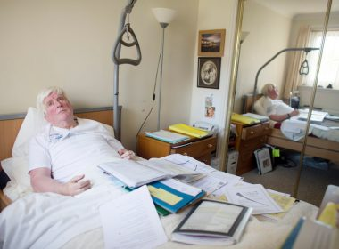 """Western General Hospital accused of """"medical negligence, lies and cover-ups"""" by paralysed patient 14"""