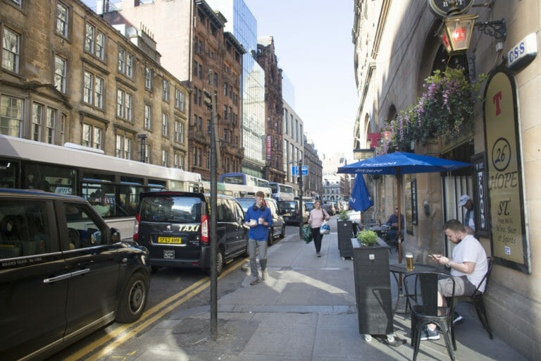 Toxic particle air pollution tops pre-pandemic levels in a third of Scottish streets 25