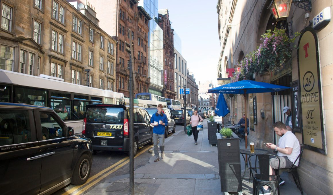Toxic particle air pollution tops pre-pandemic levels in a third of Scottish streets 10